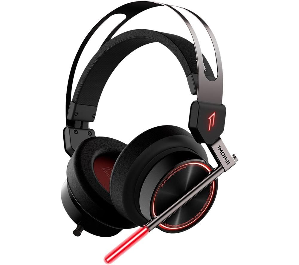 1MORE Spearhead VR Gaming Noise-Cancelling Headphones - Black, Black