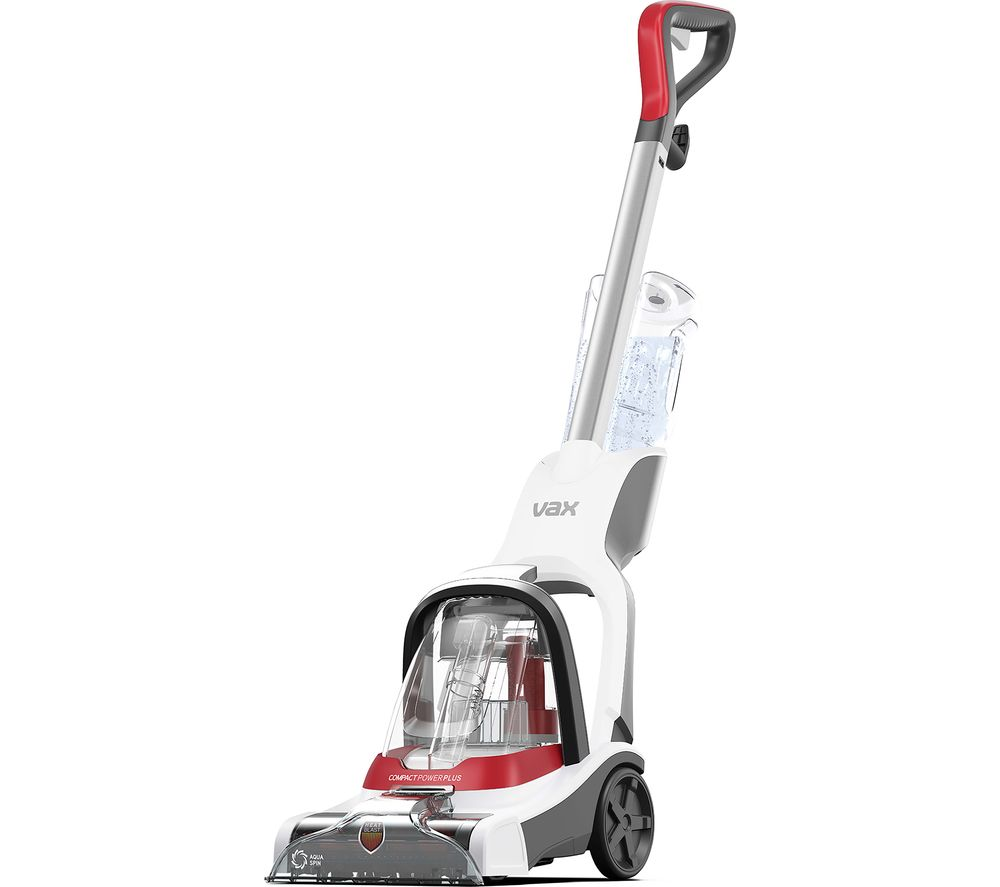 VAX Compact Power Plus CDCW-CPXP Upright Carpet Cleaner - White & Graphite, White